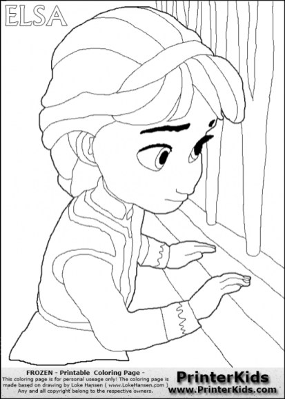 Princess Elsa Coloring Pages 69164