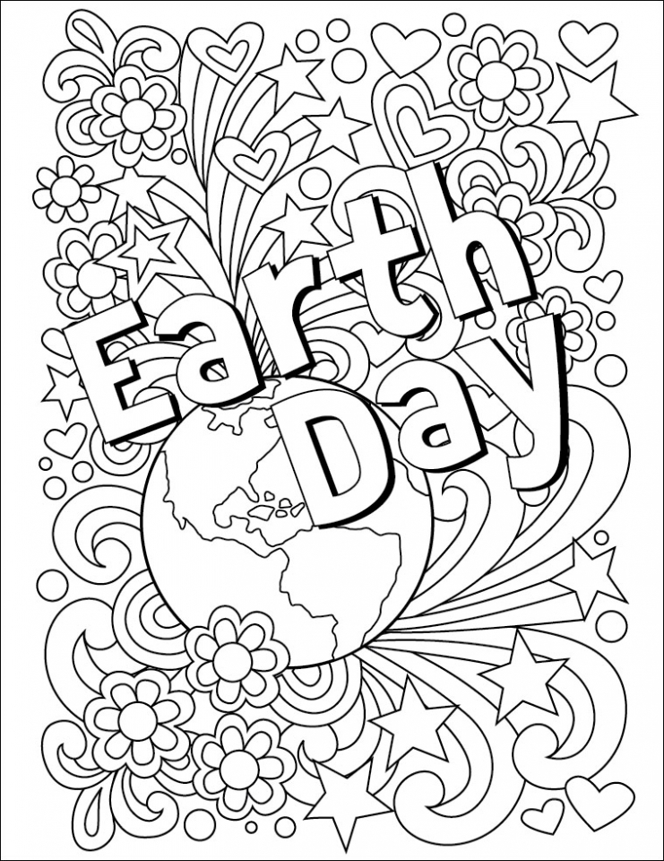Earth Day Coloring Pages Free to Print   81728