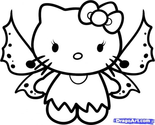 Free Printable Kitty Coloring Pages for Kids 29647