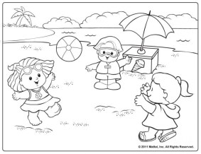 Free Summer Coloring Pages Online Printable 51655