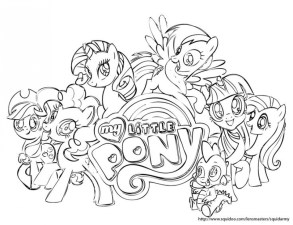 Printables for Toddlers My Little Pony Friendship Is Magic Coloring Pages Online Free 64262