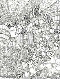 Free Adults Printable of Summer Coloring Pages - 17732