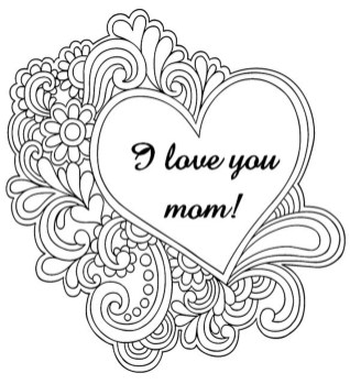 Free Mother's Day Coloring Pages for Adults to Print Out - 37120