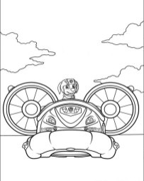 Kids Printable Paw Patrol Coloring Pages Zuma - 53678