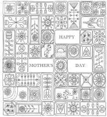 Mother's Day Coloring Pages for Adults Printable - 44921