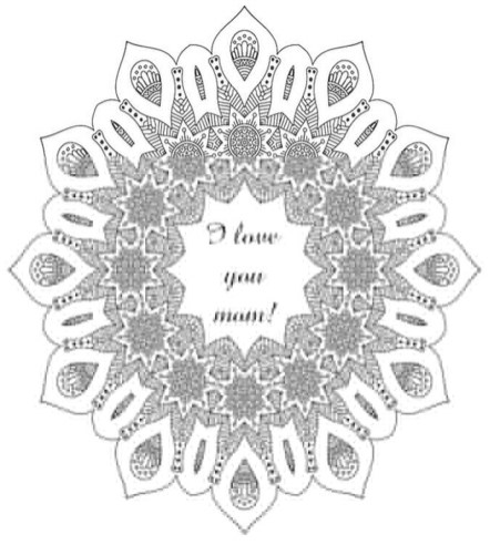 Mother's Day Coloring Pages for Adults Printable - 73910