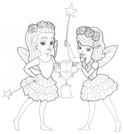 Princess Sofia the First Coloring Pages to Print Out for Girls - 78192