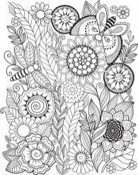 Summer Coloring Pages to Print Out for Adults - 75021