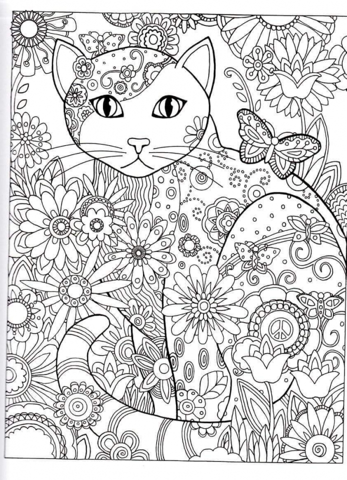 Abstract Adult Coloring Sheets to Print Out   45362