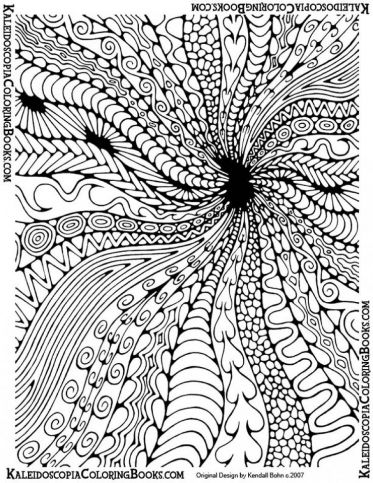 Abstract Coloring Pages for Adults   76318