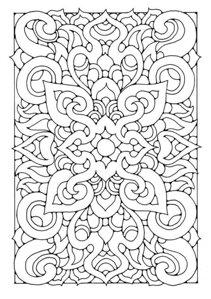 Adult Printable Abstract Coloring Pages   27841