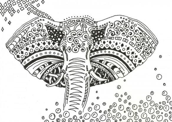 Beautiful Abstract Coloring Pages Printable for Grown Ups 56281