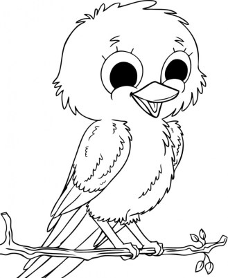 Bird Coloring Pages Free Printable 60915