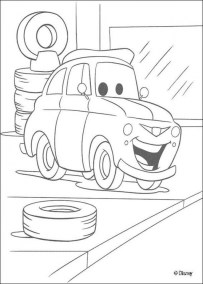Cars Coloring Pages Disney Printable for Kids 21547