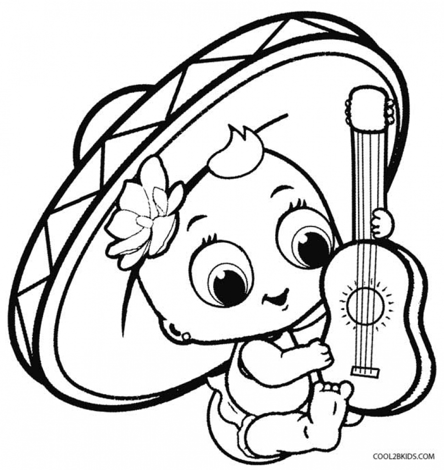 Get This Cinco de Mayo Coloring Pages to Print for Kids ...