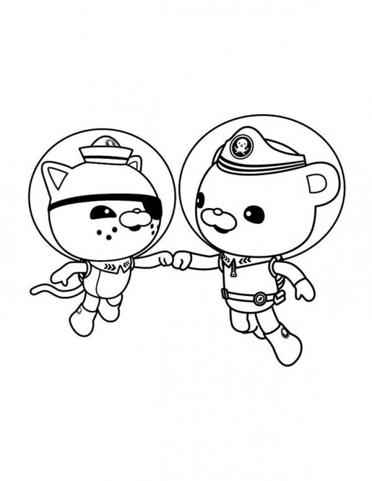 Coloring Pages of Octonauts   41774
