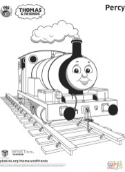 Coloring Pages of Thomas the Train and Friends 85821