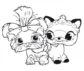 Cute Printable Coloring Pages of Littlest Pet Shop 74691