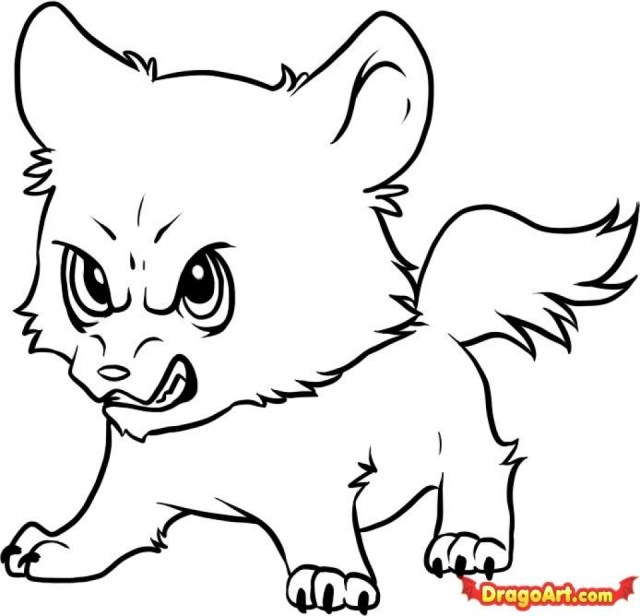 Get This Cute Wolf Coloring Pages 29 !