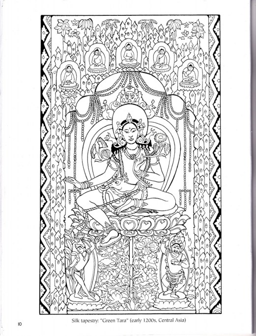 Difficult Coloring Pages for Grown Ups 11726