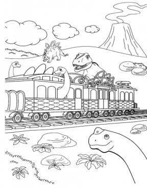 Dinosaur Train Coloring Pages to Print Out 62771