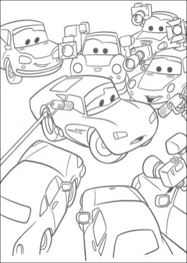 Disney Cars Coloring Pages to Print for Kids 25164