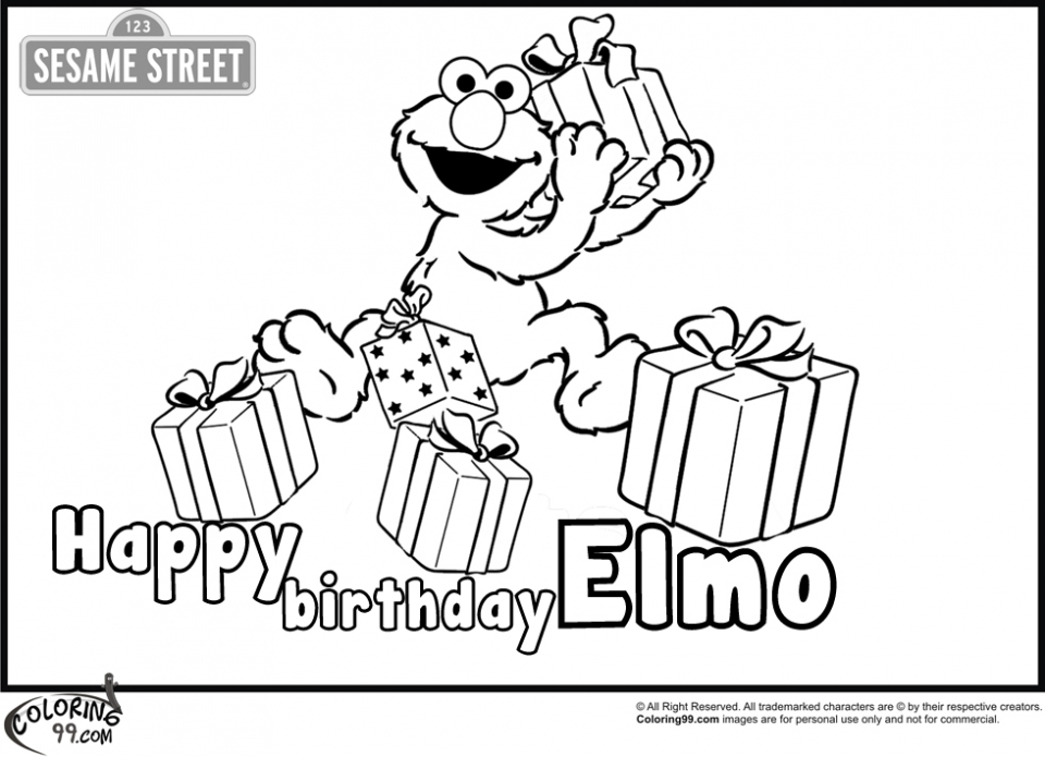 Elmo Coloring Pages Online   07426