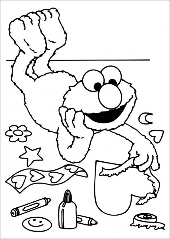 Elmo Coloring Pages Online   73166