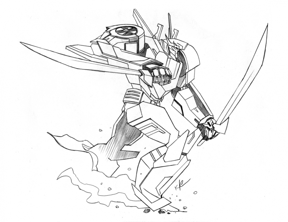 Transformers Wheeljack G1 Coloring Pages