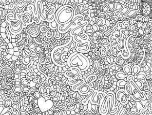 Free Difficult Coloring Pages 16706