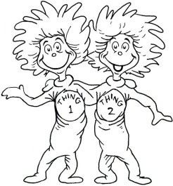 Free Dr Seuss Coloring Pages 68323