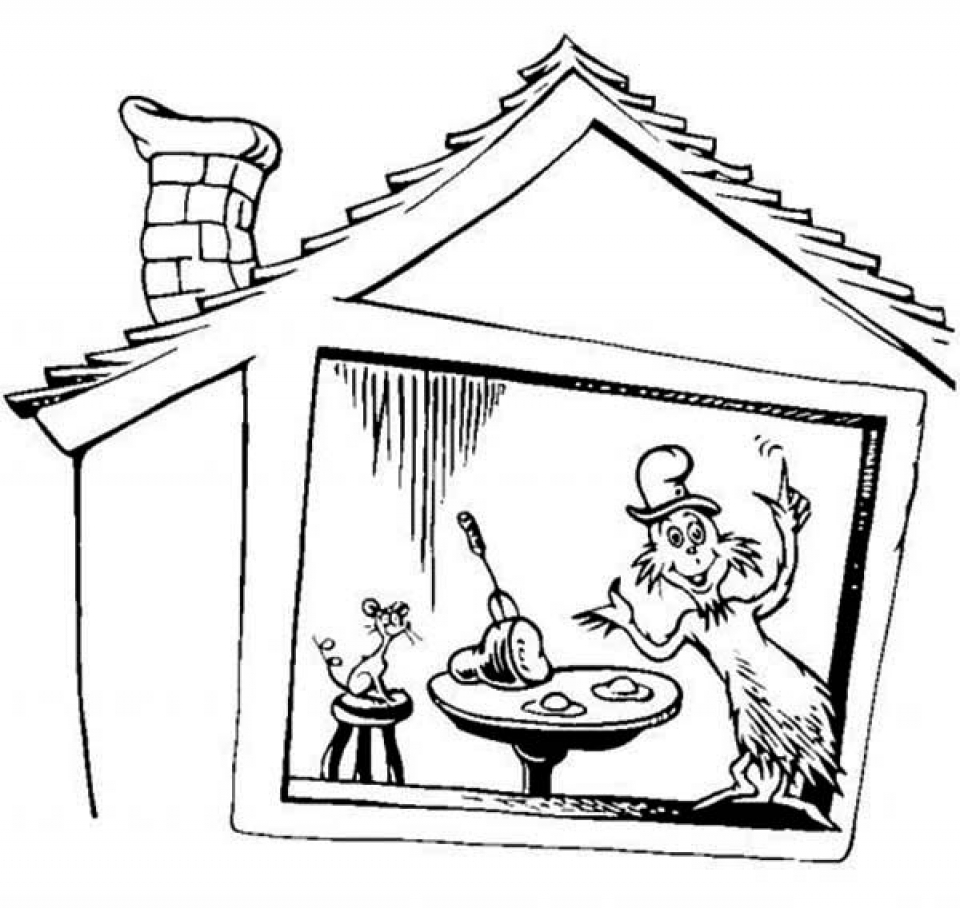 Free Dr Seuss Coloring Pages to Print   20136