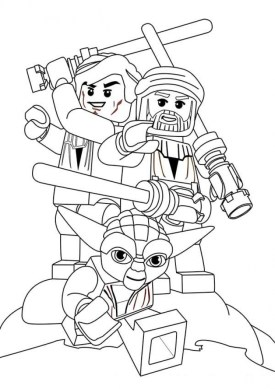 Free Lego Star Wars Coloring Pages to Print 89529