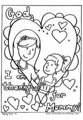 Free Mothers Day Kids Coloring Pages Printable 83549