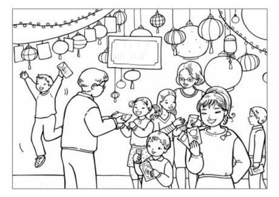 Free Printable New Years Coloring Pages Online   40301