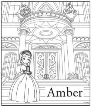 Free Sofia the First Coloring Pages 58343