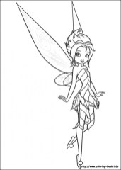 Free Tinkerbell Coloring Pages 15717