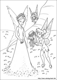 Free Tinkerbell Coloring Pages to Print 64834