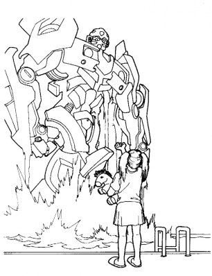 Free Transformers Coloring Pages to Print Out 61253