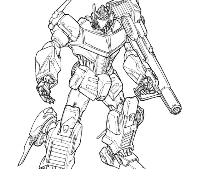 Free Printable Transformers Coloring Pages Everfreecoloring Com