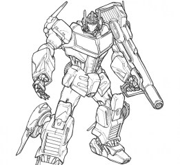 Free Transformers Coloring Pages to Print Out 83756