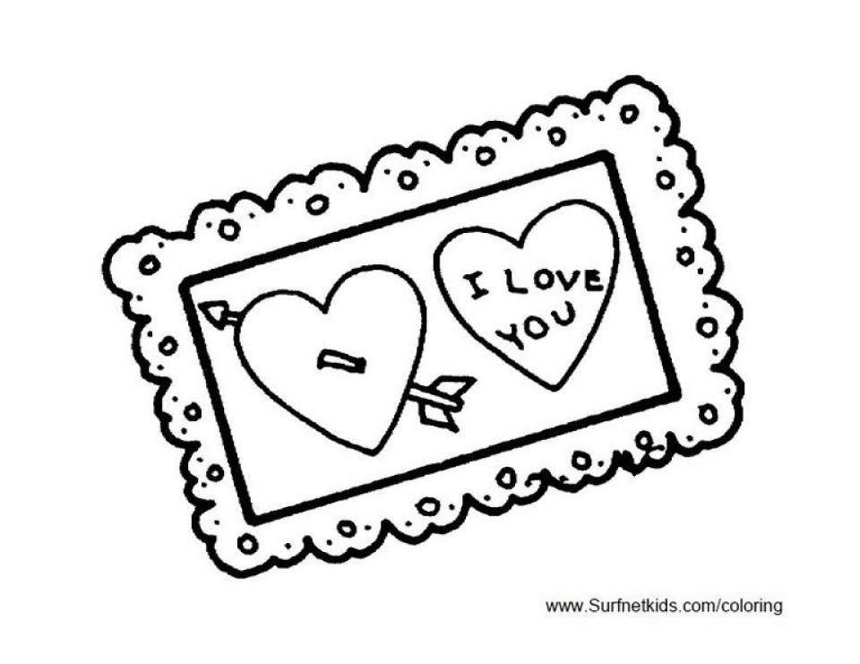 Free Valentines Coloring Pages   31694