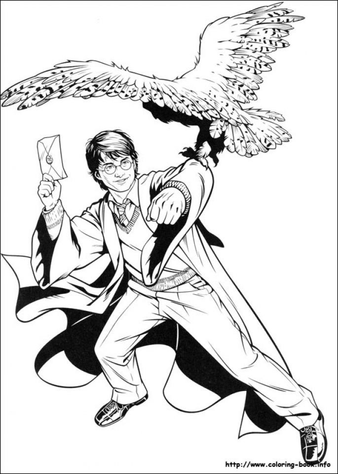 Harry Potter Coloring Pages for Adults   88641