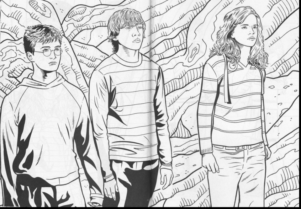 Harry Potter Coloring Pages Free   67381