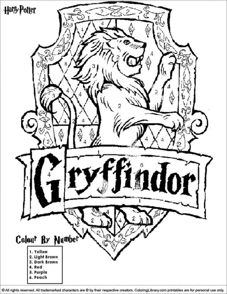 Harry Potter Coloring Pages Printable   52671