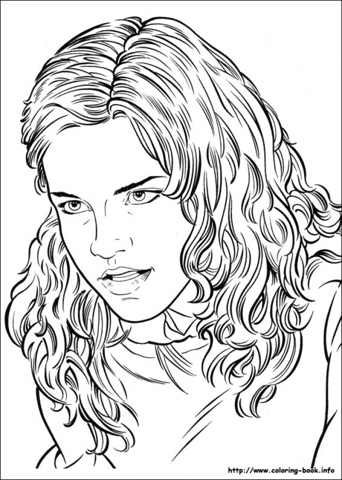 Harry Potter Coloring Pages Printable Free   31774