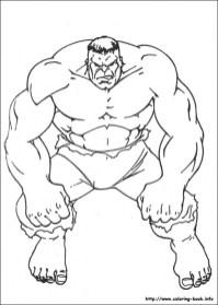 Hulk Coloring Pages Superheroes Printable 38961