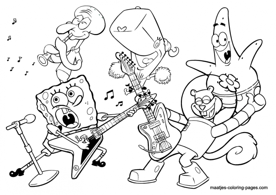 - 20+ Free Printable Music Coloring Pages - EverFreeColoring.com