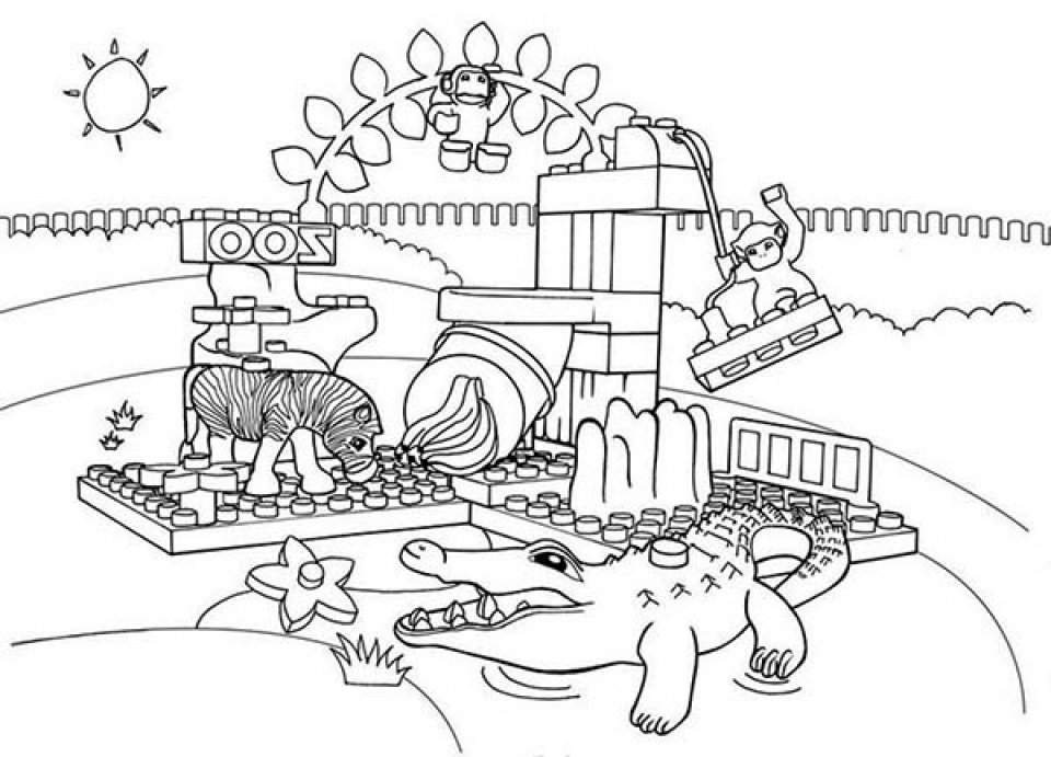 Kids Printable Zoo Coloring Pages Free   47831