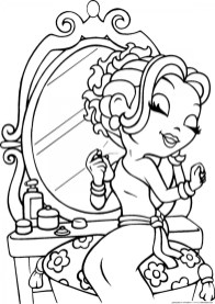 Lisa Frank Coloring Pages for Girls 36918
